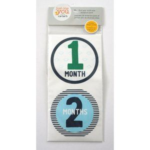 CARTERS Just One You Baby Milestone Photo Stickers